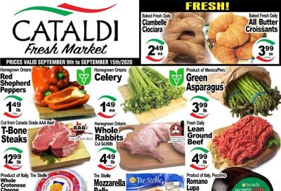 Cataldi Fresh Market Flyer September 9 to 15