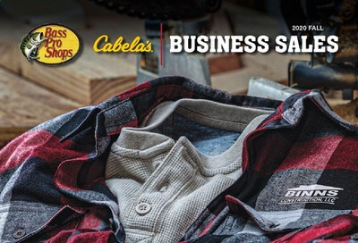 Bass Pro Shops Weekly Ad September 9 to December 26