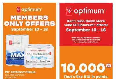 Loblaws (ON) Flyer September 10 to 16