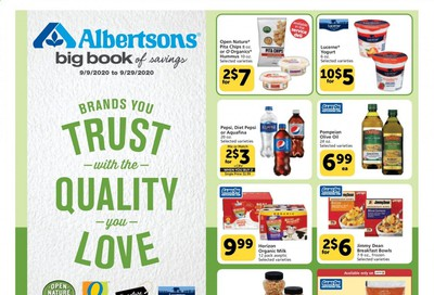 Albertsons Weekly Ad September 9 to September 29