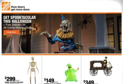 The Home Depot Weekly Ad September 8 to September 10