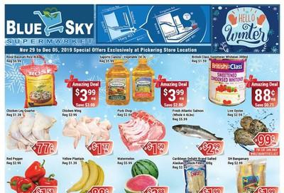 Blue Sky Supermarket (Pickering) Flyer November 29 to December 5