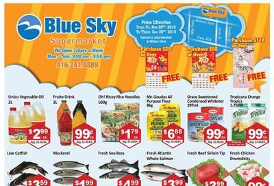 Blue Sky Supermarket (North York) Flyer November 29 to December 5