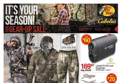 Bass Pro Shops Weekly Ad September 10 to September 23
