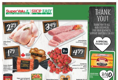 Shop Easy & SuperValu Flyer September 11 to 17