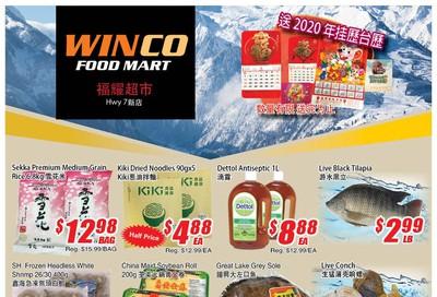 WinCo Food Mart (HWY 7) Flyer November 28 to December 4