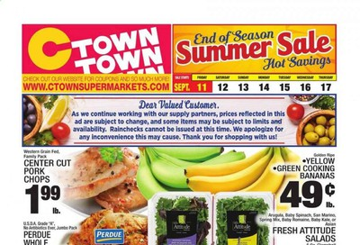 C-Town Weekly Ad September 11 to September 17