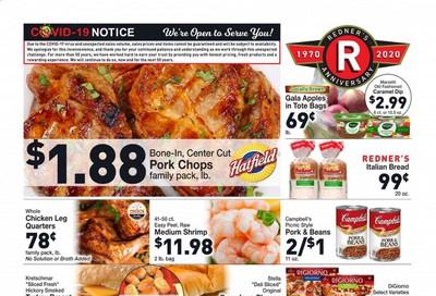 Redner's Markets Weekly Ad September 10 to September 16