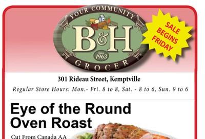 B&H Your Community Grocer Flyer November 29 to December 5