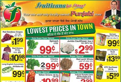 Fruiticana (Edmonton) Flyer November 29 to December 4