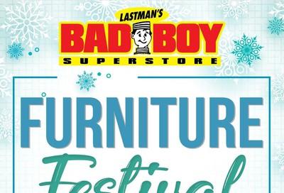 Lastman's Bad Boy Superstore Flyer November 28 to December 28