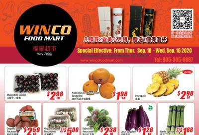 WinCo Food Mart (HWY 7) Flyer September 10 to 16