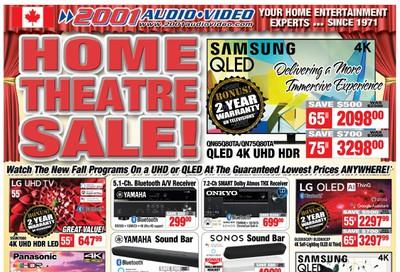2001 Audio Video Flyer September 11 to 17