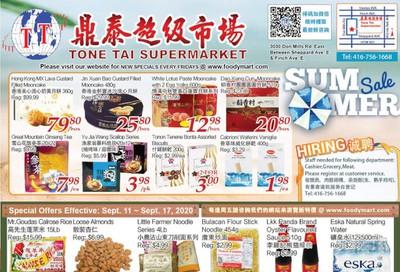 Tone Tai Supermarket Flyer September 11 to 17