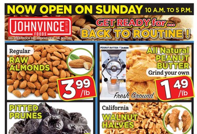 Johnvince Foods Flyer September 12 to 25