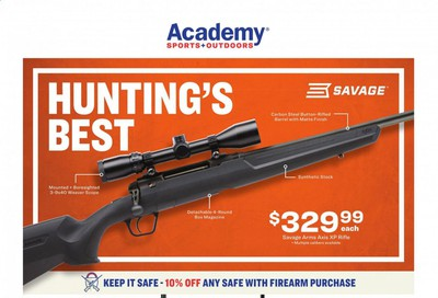 Academy Sports Weekly Ad September 14 to September 27