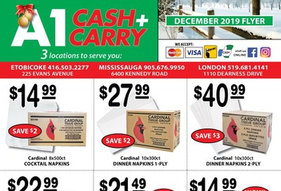 A-1 Cash and Carry Flyer December 1 to 31