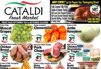 Cataldi Fresh Market Flyer September 16 to 22