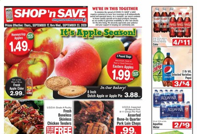 Shop 'n Save (Pittsburgh) (MD, NY, OH, PA) Weekly Ad September 17 to September 23