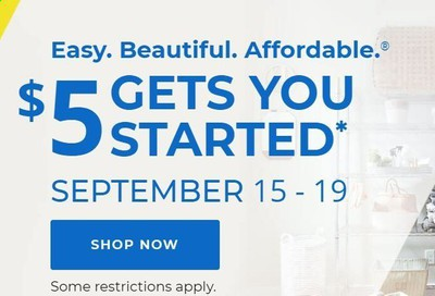 Aaron's Weekly Ad September 15 to September 19