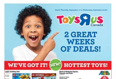 Toys R Us Flyer September 17 to 30
