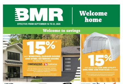 BMR Flyer September 16 to 22
