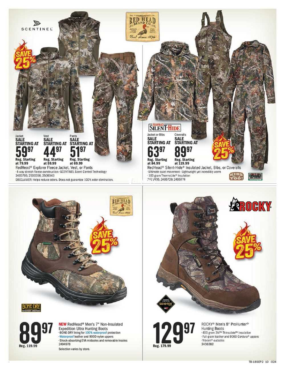 more photos b6d29 75bf7 Bass Pro Shops Flyer September 7 to 23 Canada