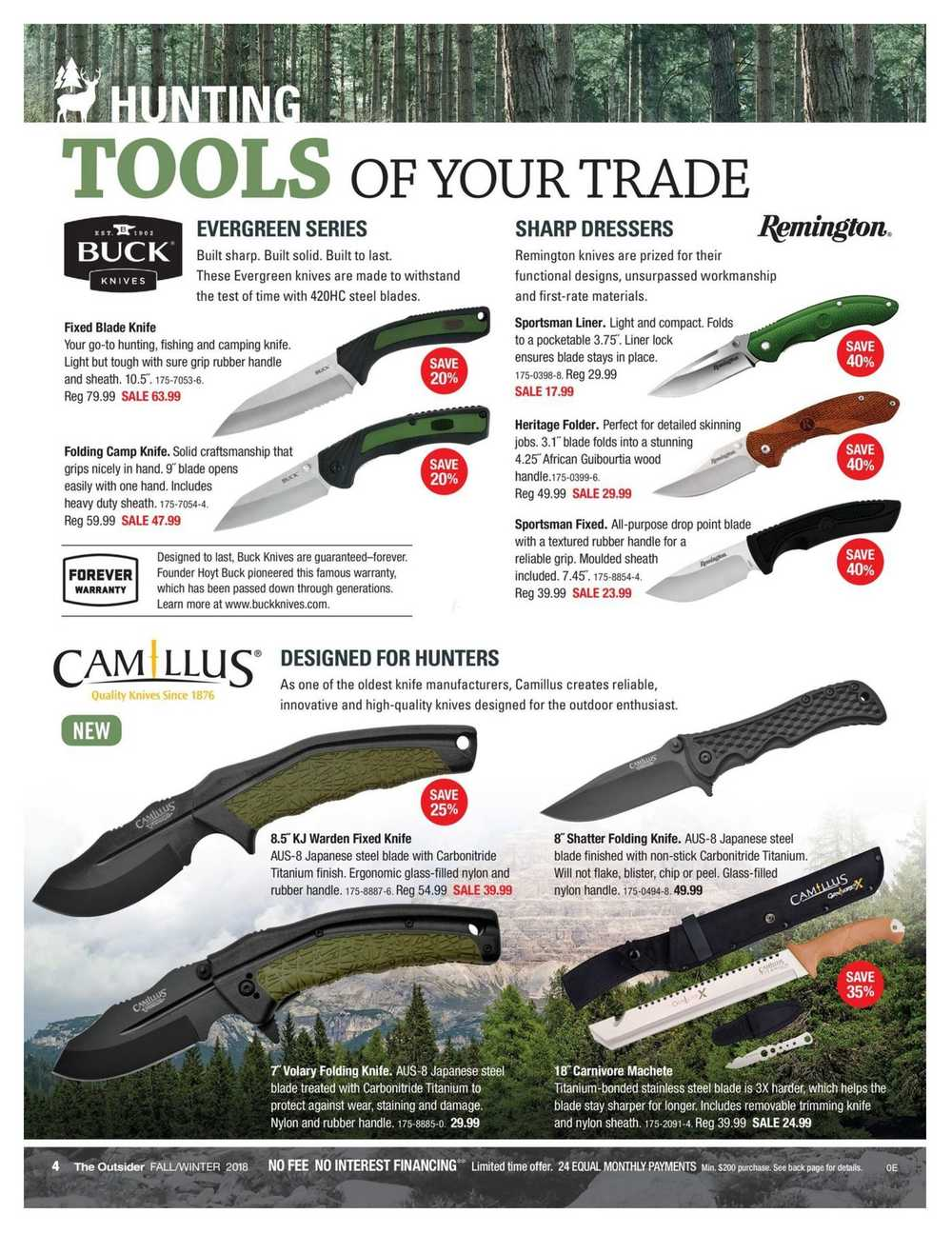 Canadian Tire The Outsider Catalogue September 14 to October 11 Canada