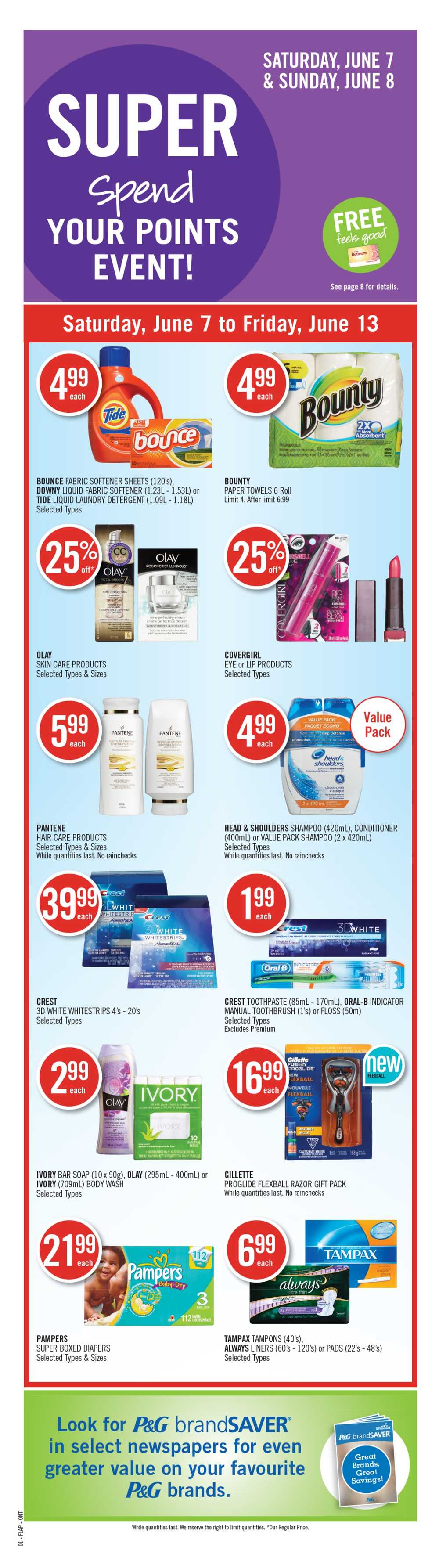 Shoppers Drug Mart (ON) flyer June 7 to 13 Canada