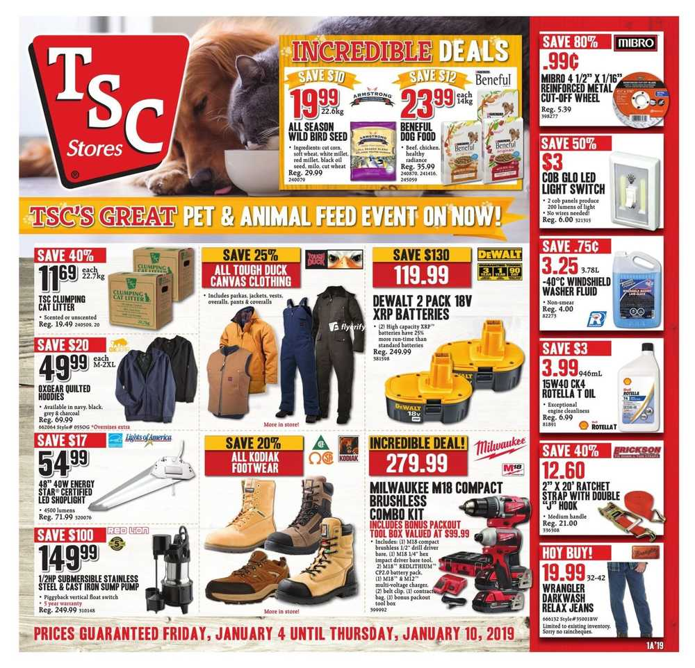 Tsc Stores Canada