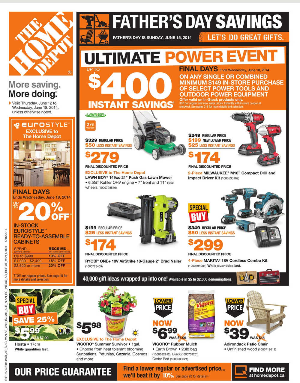 Home Depot Canada Weekly Flyer June 12 To 18 Canada