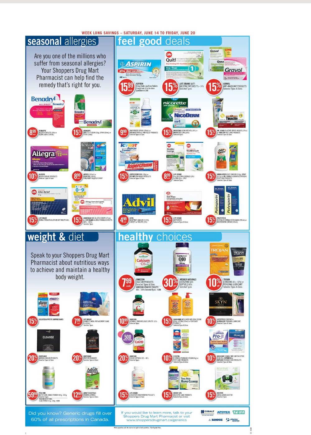 Shoppers Drug Mart Flyer Nl Ibovnathandedecker