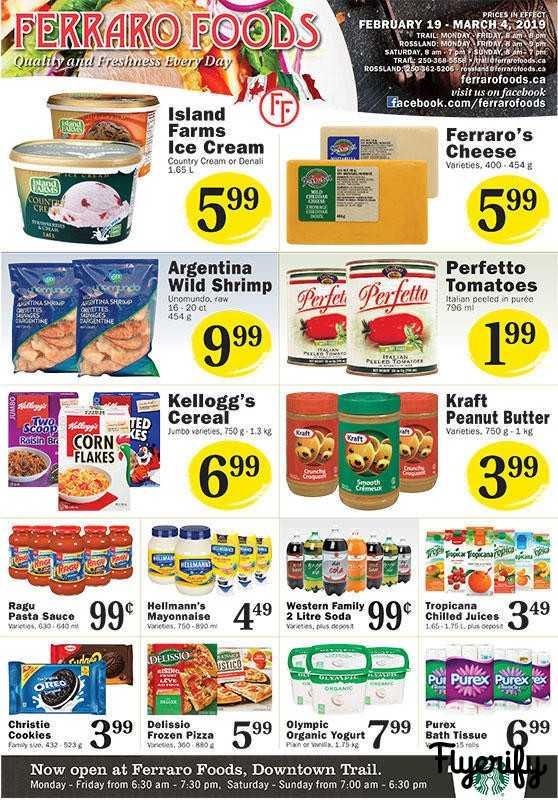 Ferraro Foods Flyer February 19 to March 4 Canada