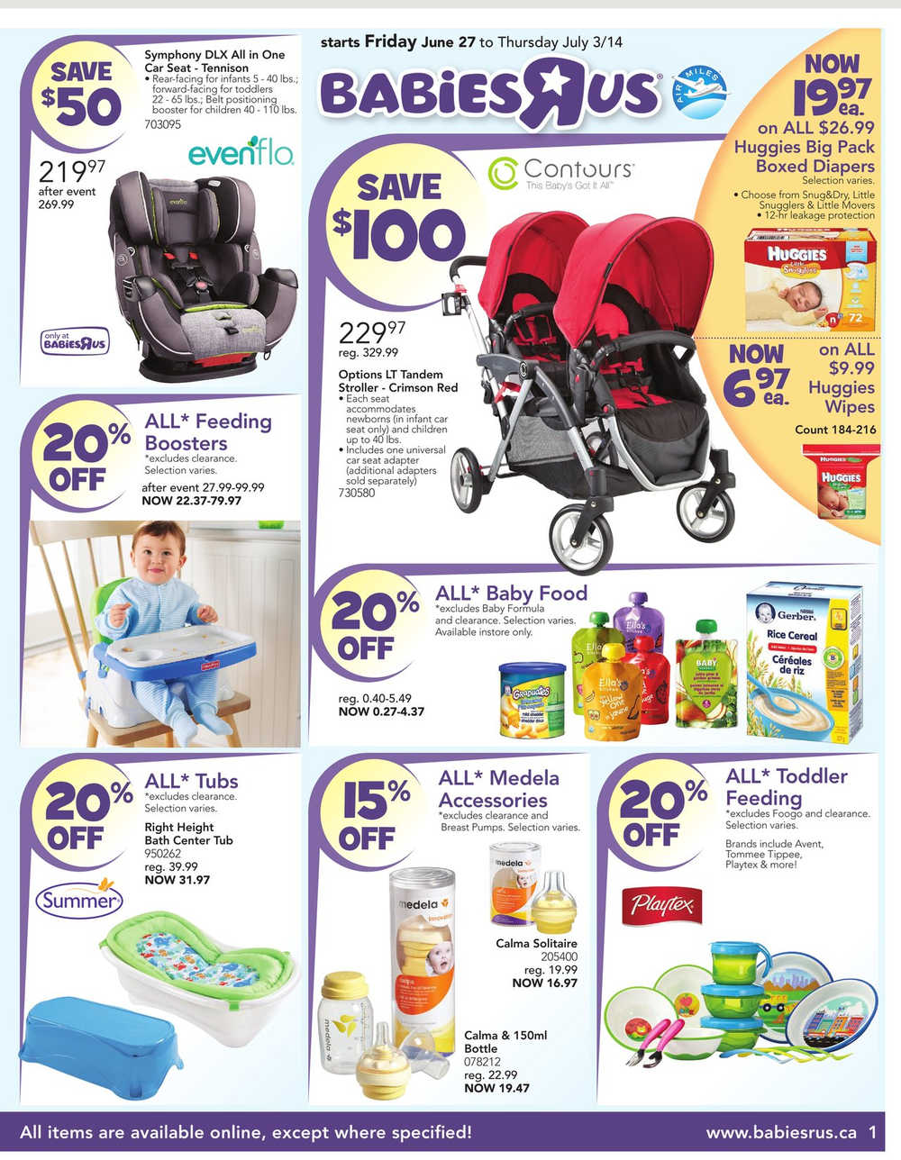 Toys R Us Canada Babies R Us Flyer June 27 To July 3 Canada
