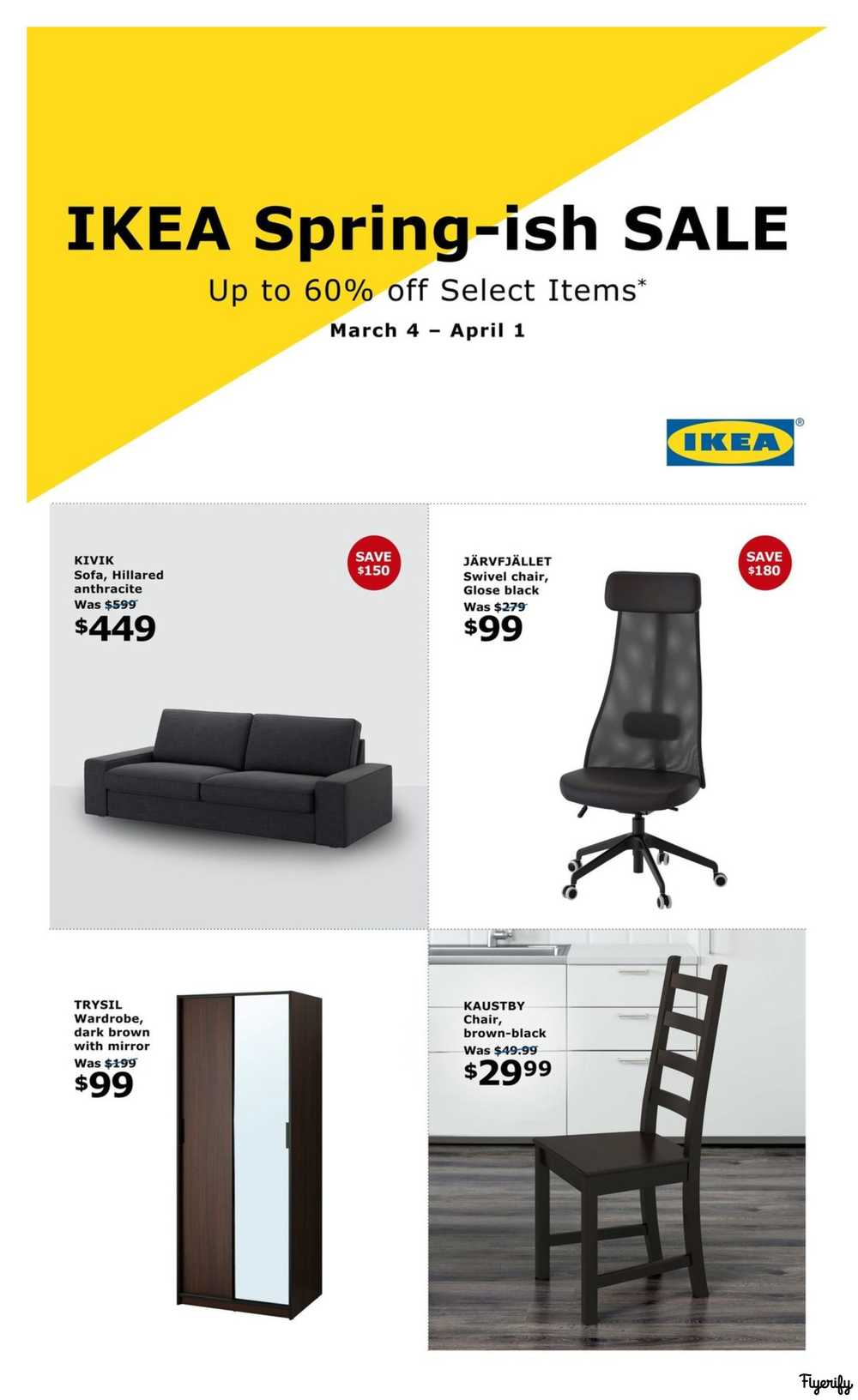 Wondrous Ikea Flyers Squirreltailoven Fun Painted Chair Ideas Images Squirreltailovenorg