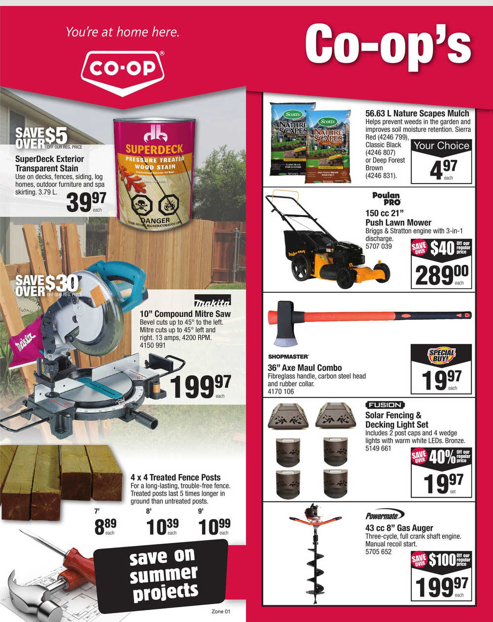 Co Op Home Centre Flyer Mb Sk July 18 To 24 Canada
