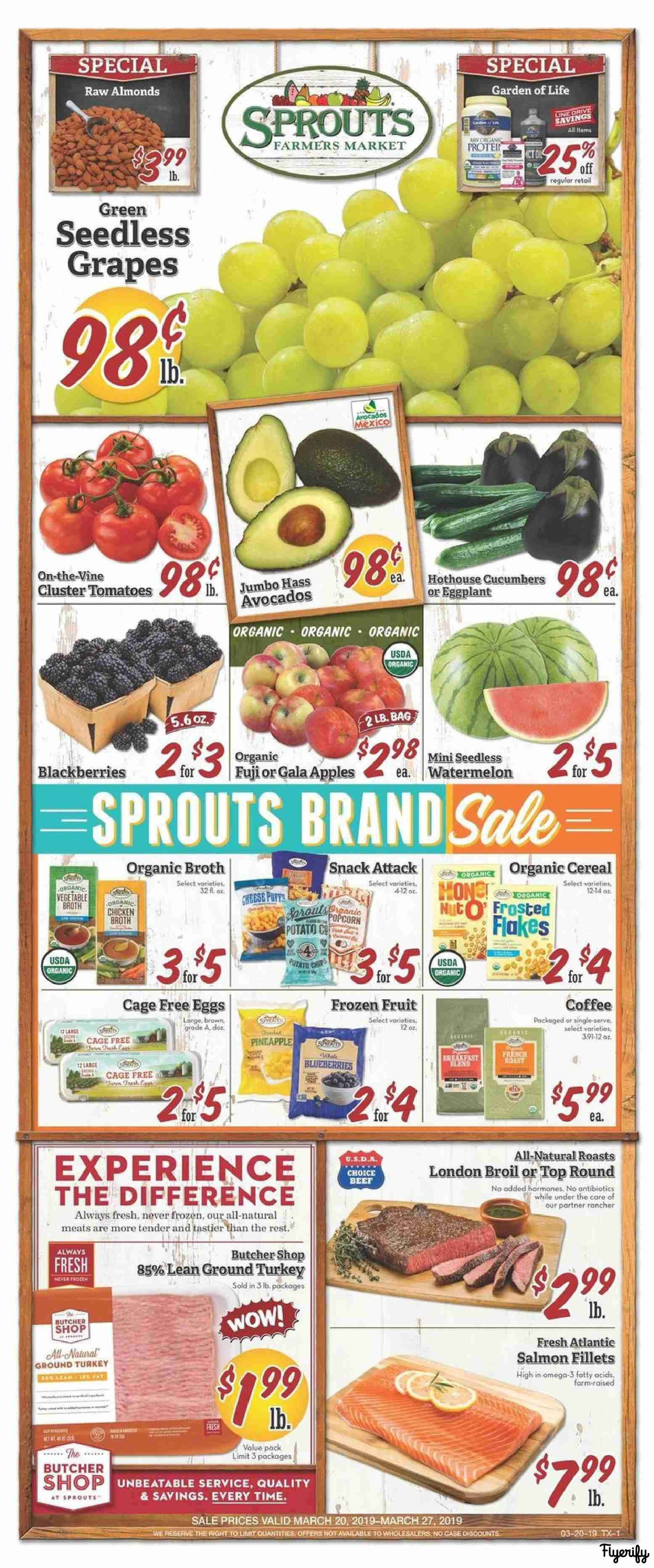 Sprouts (TX) Weekly Ad & Flyer March 20 to 27 Canada