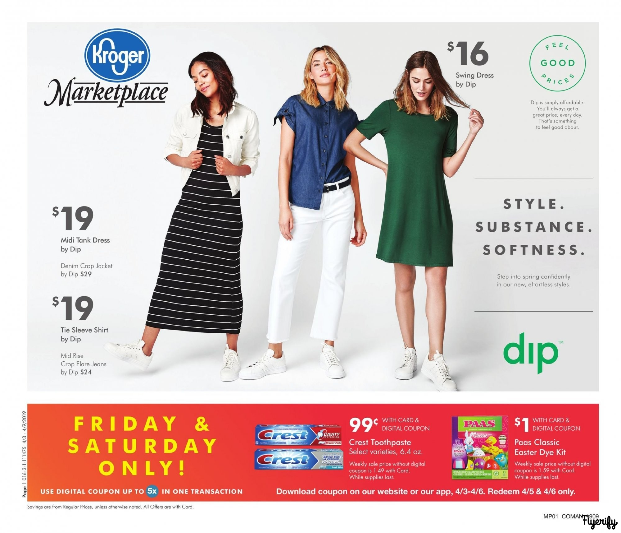 d23e2c4a6bf Kroger (Marketplace OH) Weekly Ad   Flyer April 3 to 9