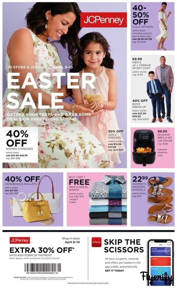 JCPenney Weekly Ad & Flyer April 8 to 10 Canada