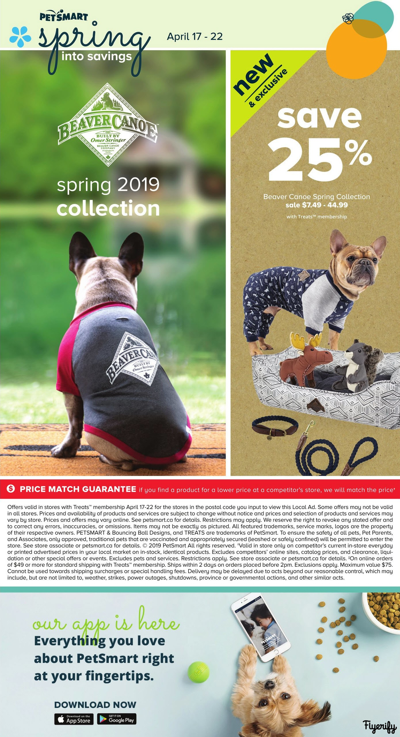PetSmart Spring into Savings Flyer April 17 to 22 Canada
