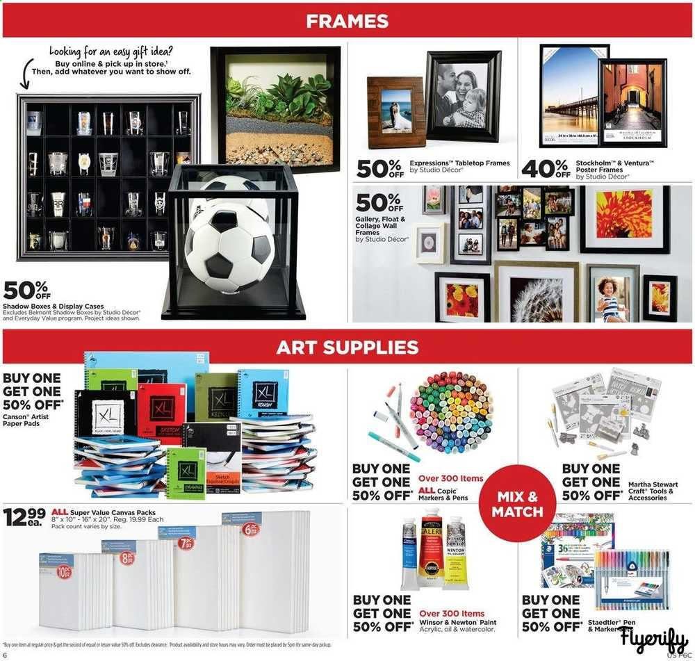 Michaels Weekly Ad & Flyer April 21 to 27 Canada