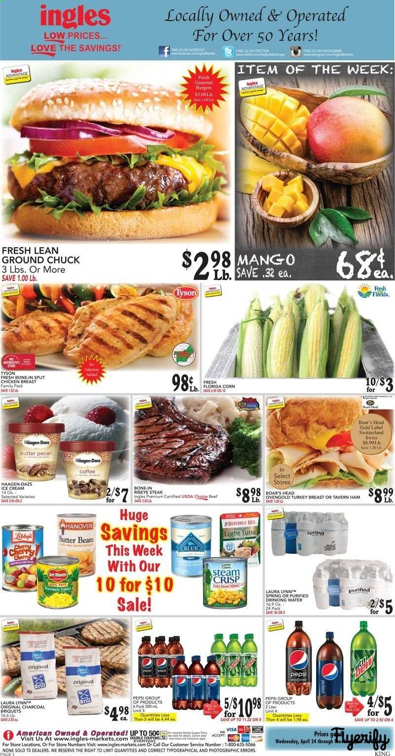 Ingles (TN - Kingsport Area) Weekly Ad & Flyer April 24 to