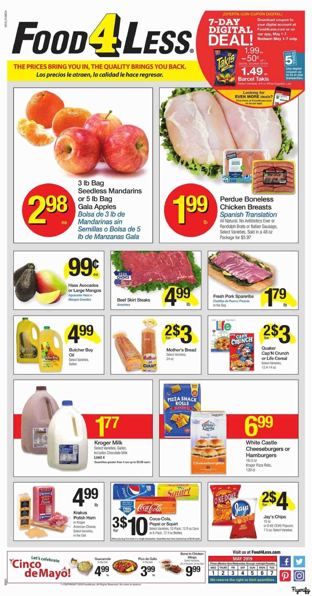 d5e0d99c0ea Food 4 Less (IL - Chicago) Weekly Ad   Flyer May 1 to 7