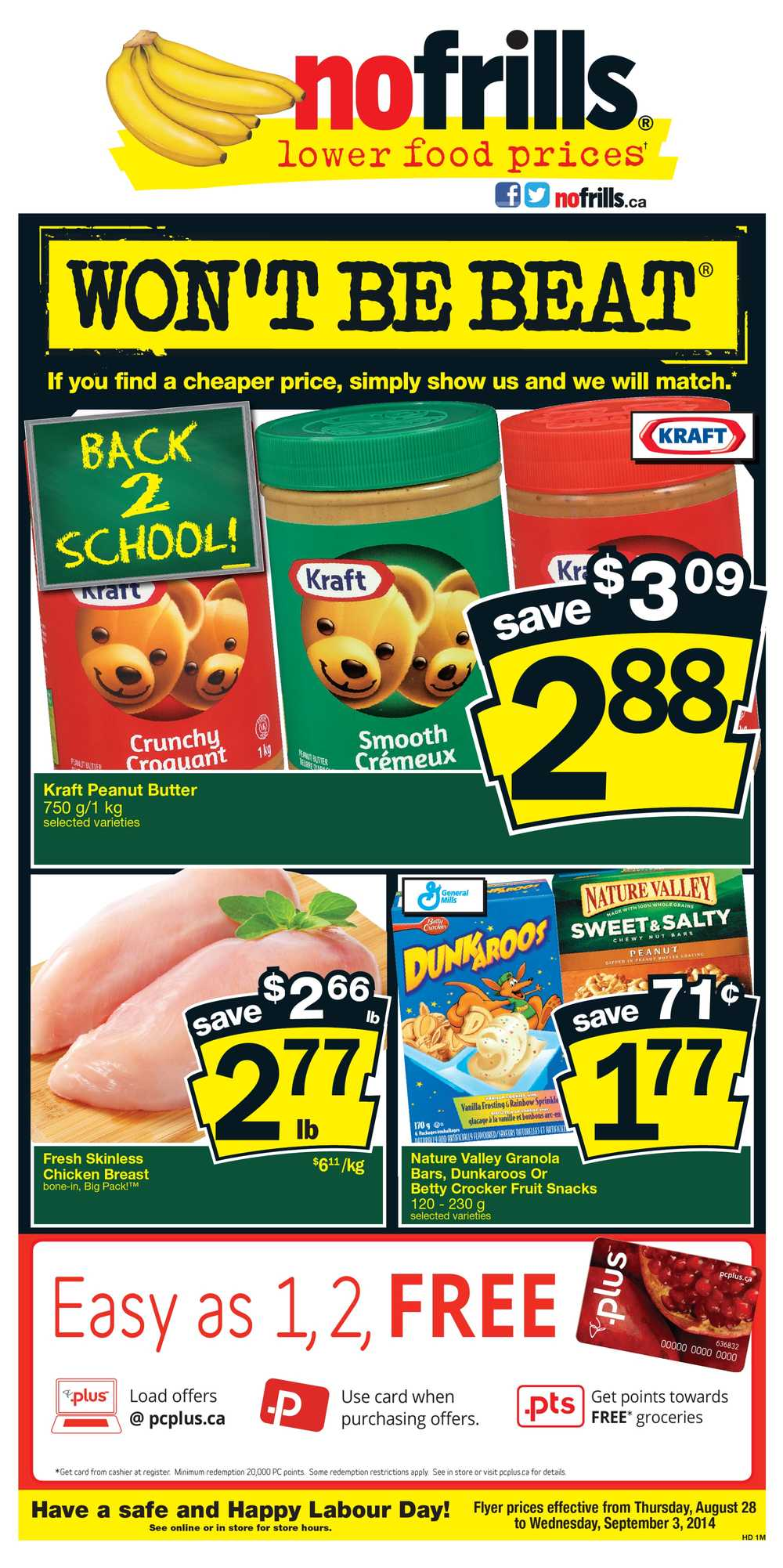 No Frills (Atlantic) Flyer August 28 To September 3 Canada