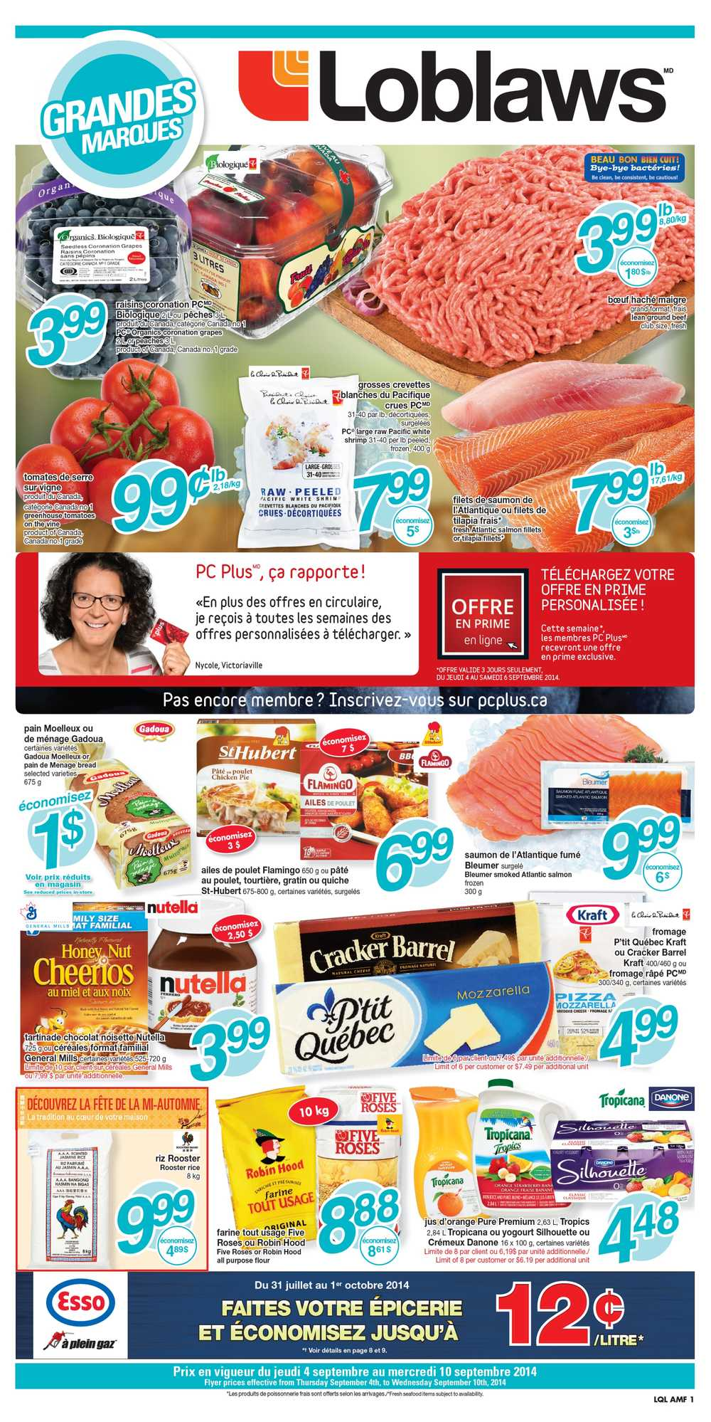 Loblaws Qc Flyer September 4 To 10 Canada