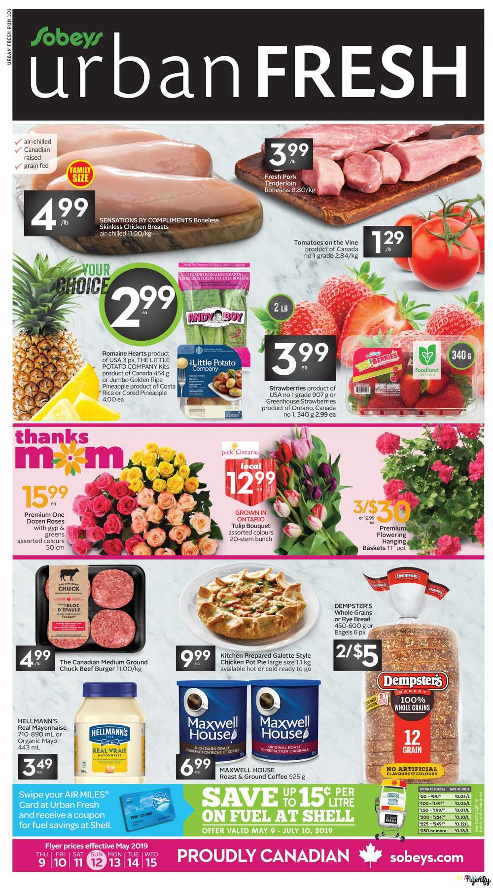 Sobeys Urban Fresh Flyer May 9 to 15