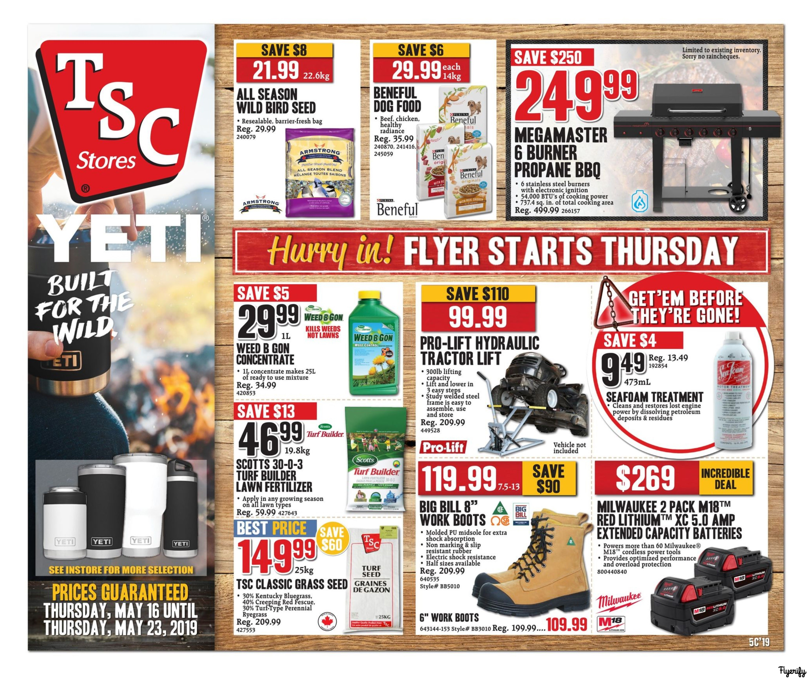 TSC Stores Flyer May 16 to 23 Canada