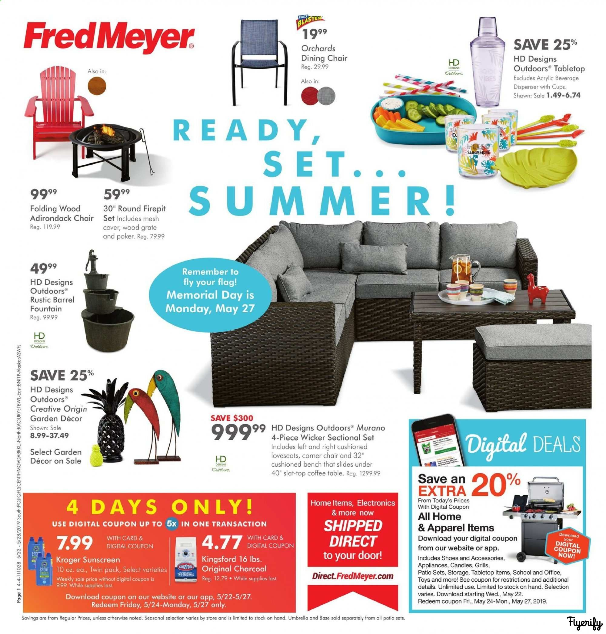 Fred Meyer Weekly Ad & Flyer May 22 to 28 Canada