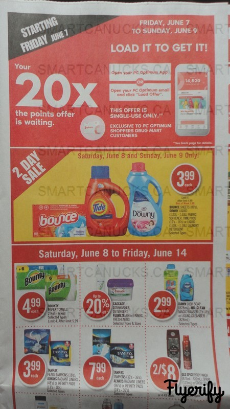 Shoppers Drug Mart (ON) Flyer June 8 to 14 Canada