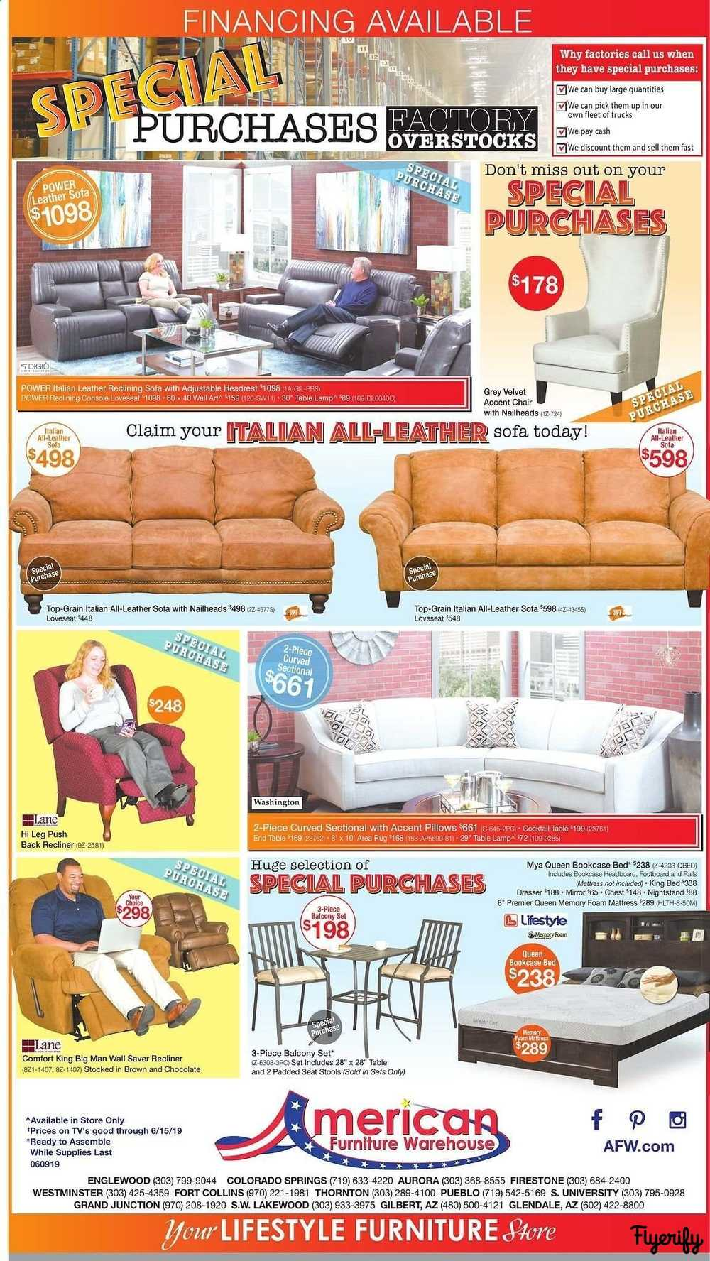 American Furniture Warehouse Weekly Ad